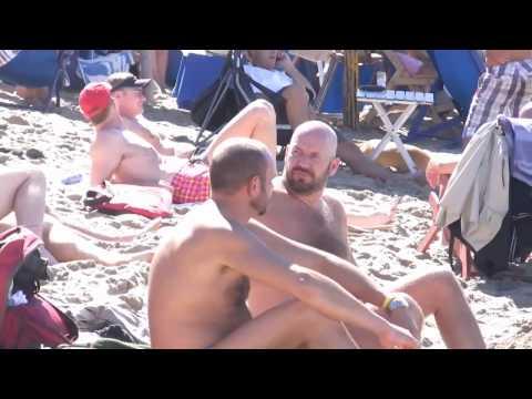 Furry guys on the Beach in Puerto Vallarta