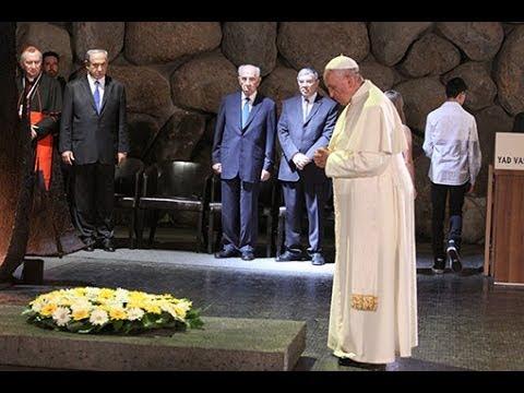 Pope Francis at Yad Vashem, 26 May 2014