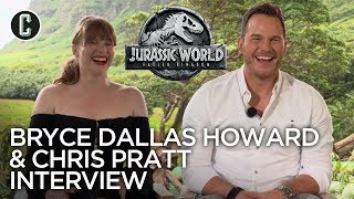 Chris Pratt & Bryce Dallas Howard on Why They Love the Jurassic World: Fallen Kingdom Ending