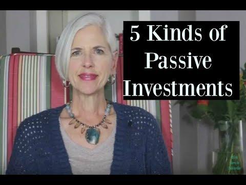 Passive Investment Ideas