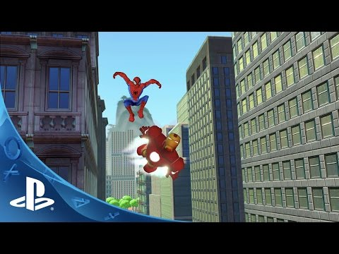Disney Infinity 2.0 - Infinite Possibilities: Disney and Marvel Together in One Game   PS4, PS3