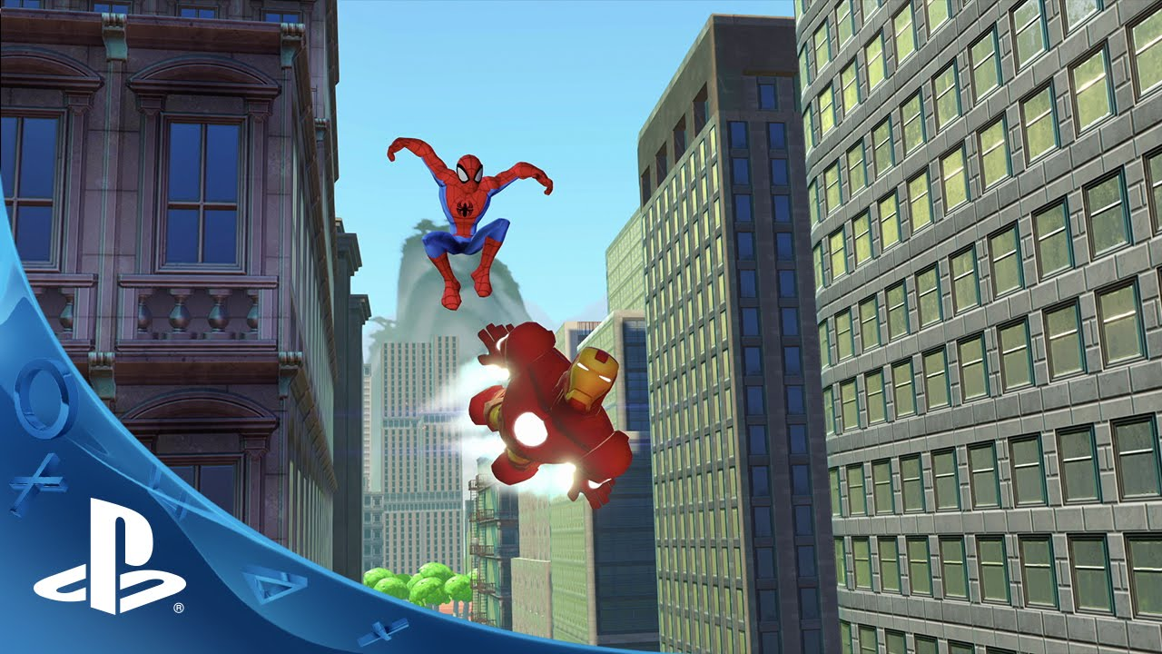 Disney Infinity 2 0 Infinite Possibilities Disney And Marvel Together In One Game Ps4 Ps3