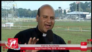 World Youth Day 2016 - Krakow, Poland - 2016-07-29 - Visit To Auschwitz