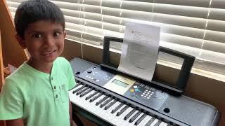 Kadhal Kan Kattudhe || Kaaki Sattai || Piano cover by Joshua Richard