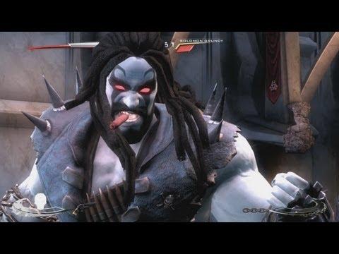 Injustice: Gods Among Us: Lobo's Super Move