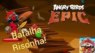 Angry Birds Epic - Rir é o PIOR remédio! (Parte 1)