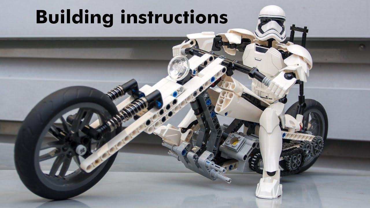 Lego Techic Motobike