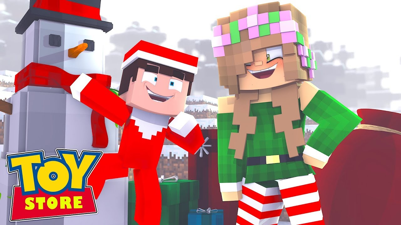 finding-the-elf-on-a-shelf-minecraft-toystore-little-kelly