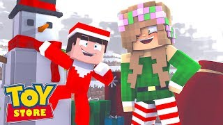 FINDING THE ELF ON A SHELF   Minecraft Toystore  Little Kelly