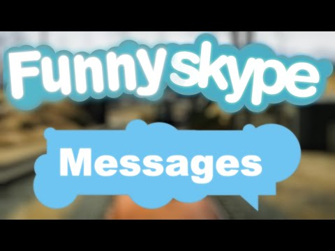 FUNNY OLD SKYPE MESSAGES! - Pro-Op Archive