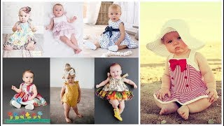 Trendy baby girl clothes=Newborn baby outfits=Cute infant dresses