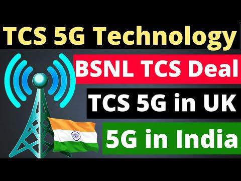 TCS 5G Technology Launch in UK  | TCS Three Telecom UK 5G Deal | TCS BSNL 4G Partnership | TCS 5G