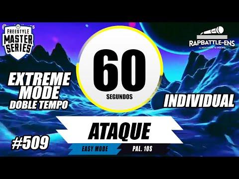 Formato FMS Argentina: Base de Rap Para Improvisar Con Palabras (Ejercicio para improvisa RAP) #509