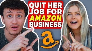 How She Built a 6 Figure Amazon FBA Business & QUIT Her Job!
