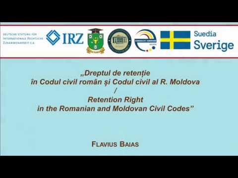 Prof. F. Baias — Dreptul de retentie