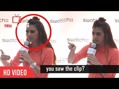 Thumbnail: Radhika Apte Gets Angry On A Reporter | Very Ridiculous | Insulting | With Subtitles