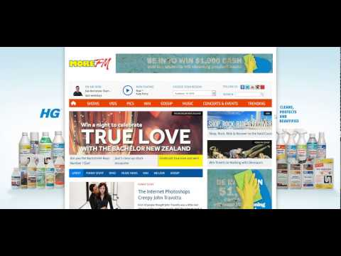 HG Cleaning Homepage Takeover - MoreFM