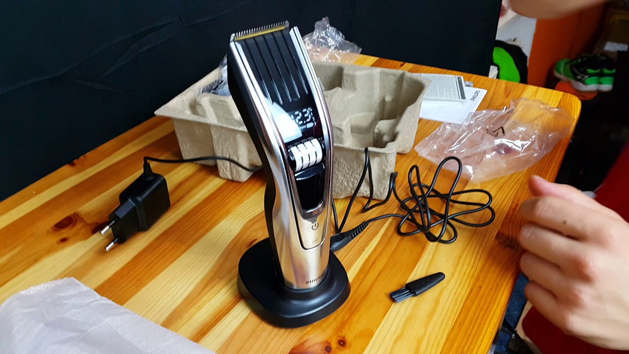 Philips Hairclipper series 9000 HC9490 15 Unboxing  4K German  - YouTube 570fa1bb6d13e