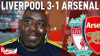 'Salah is an Amazing Footballer!' | Liverpool v Arsenal 3-1 | AFTV's Robbie Lyle Fan Cam