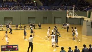 八王子vs実践学園(Q1)高校バスケ 2017 東京都新人戦決勝リーグ3日目