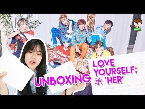 Unboxing Album BTS - 'Love Yourself : 承 Her' - #coppaBOX