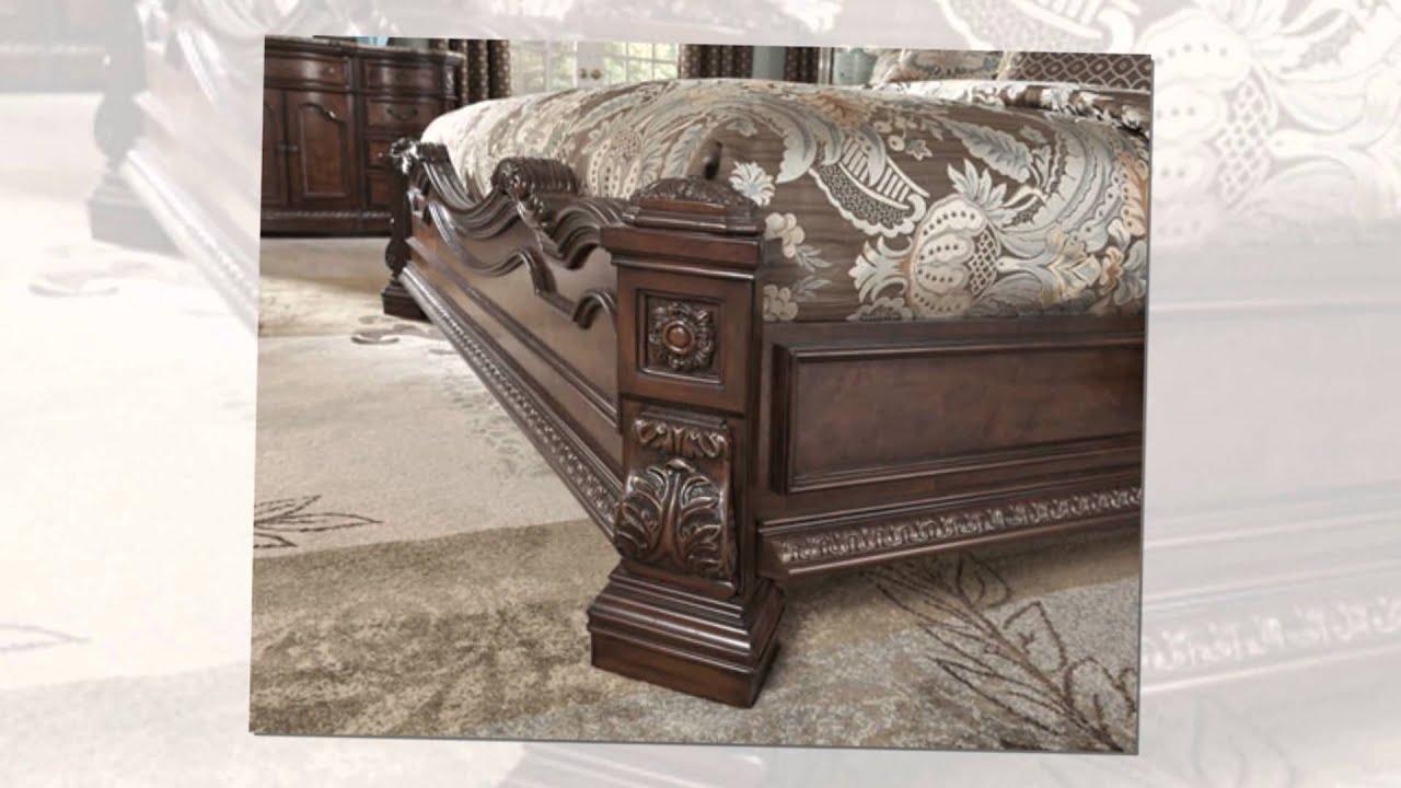 Ledelle bedroom set by ashley furniture - YouTube
