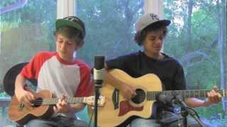 I Won't Give Up - Jason Mraz (Myles and Kolton Cover)
