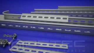 OSTEC соединение лотка и T-отвода TT с помощью планки СПУ(, 2009-11-24T07:13:44.000Z)