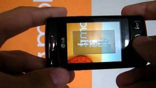 LG Wink T300 mobilx bemutató