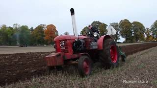 Veterantraktorplöjning Hanorp, Klockrike 2018-10-06