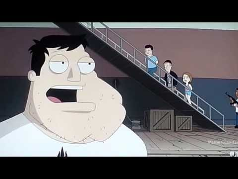 American Dad - Stan sings Climb Every Mountain