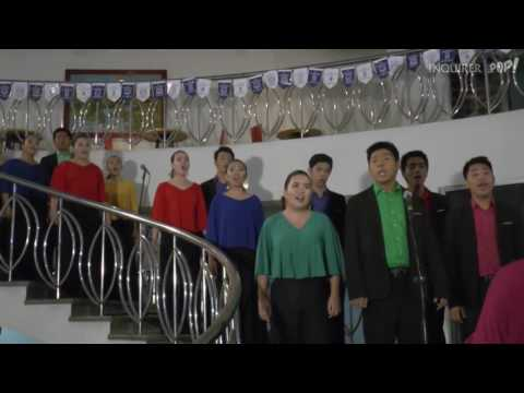 The University of the Philippines Concert Chorus live from the Inquirer