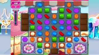 Candy Crush Saga Level 864 No Boosters 2 moves left