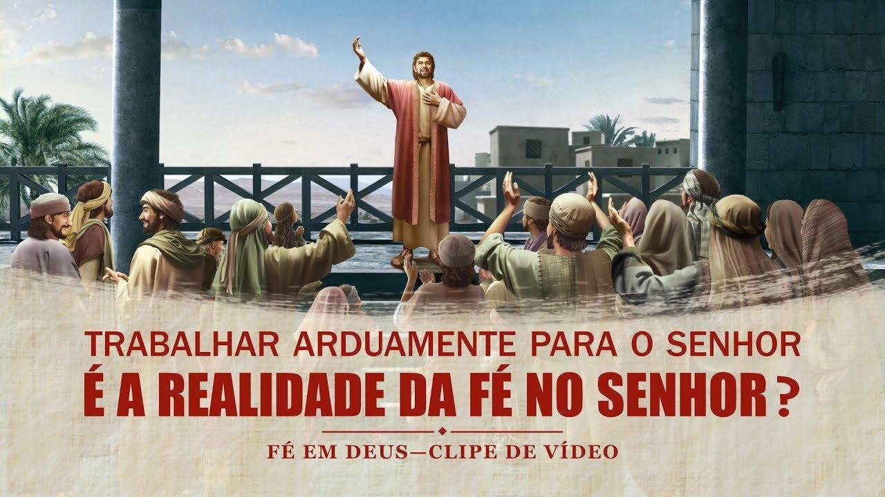 """Filme evangélico """"Fé em Deus"""" Trecho 5 – Trabalho árduo é igual a fé verdadeira em Deus?"""