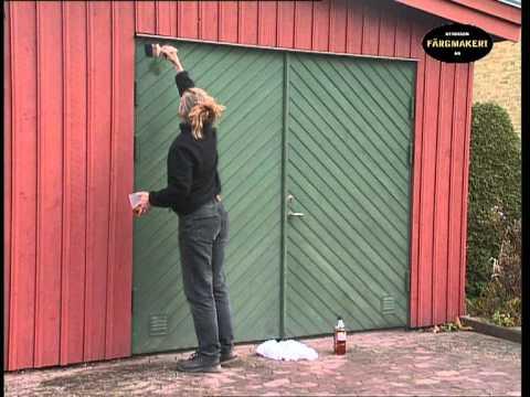Maintenance Using Linseed Oil Outdoors (www.ottossonfarg.com) Part 67