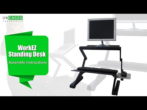 How to Assemble the WorkEZ Standing Desk - Affordable Standing Desk Converter