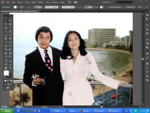 เปิดไฟล์ photoshop ใน illustrator ได้หรือไม่