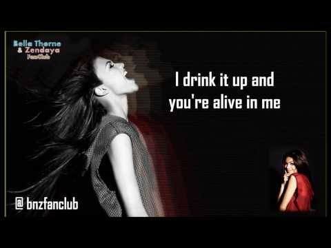 "Zendaya - ""Bottle You Up"" - (Lyrics Video)"