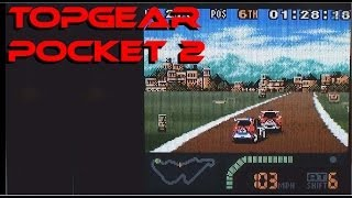 Top Gear Pocket 2 playing on the Game Boy Color