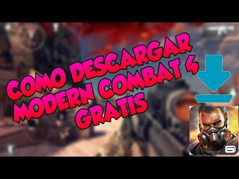 como descargar Modern Combat 4 gratis