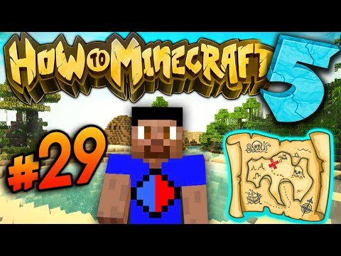 GETTING THE MAP! - How To Minecraft S5 #29