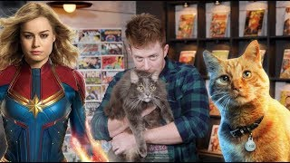 Captain Marvel's Cat Goose's First Appearance - MAJOR ISSUES