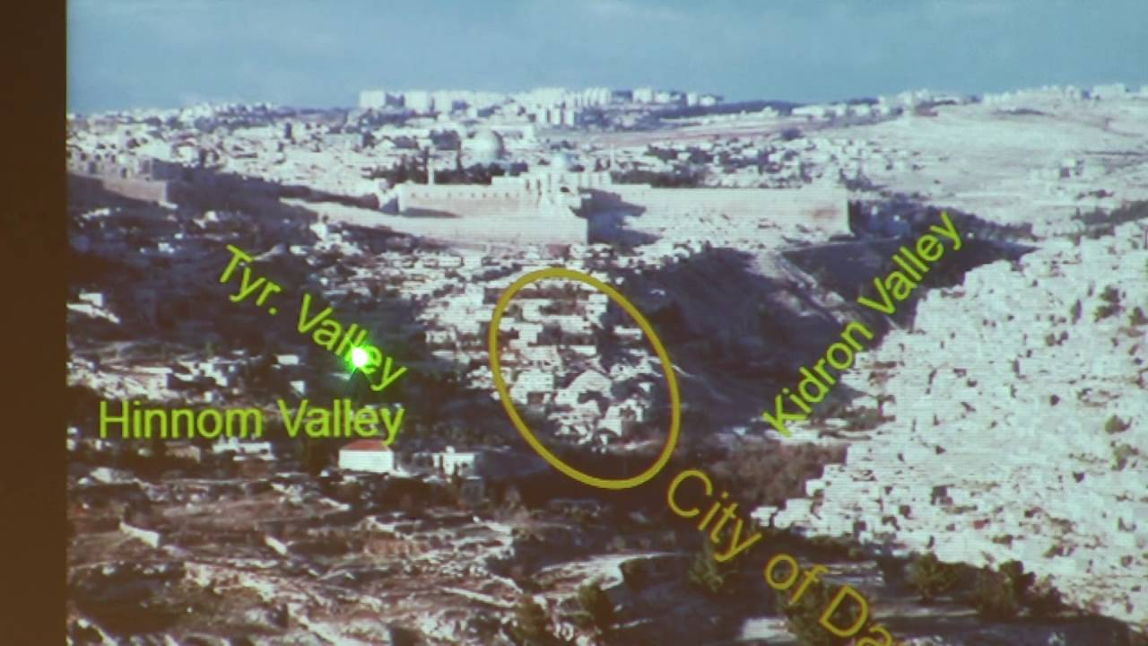 Dr  Perry Phillips, Historical Geography of Israel, Lecture 3, Jerusalem