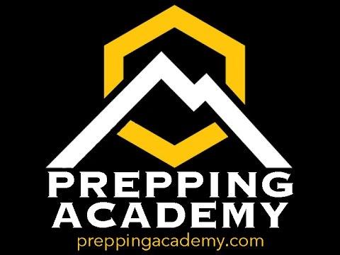 Prepping Academy World Premier Live Radio Broadcast