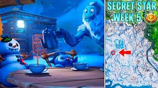 SECRET STAR WEEK 5 SEASON 7 and Loading screen (Fortnite Battle Star)