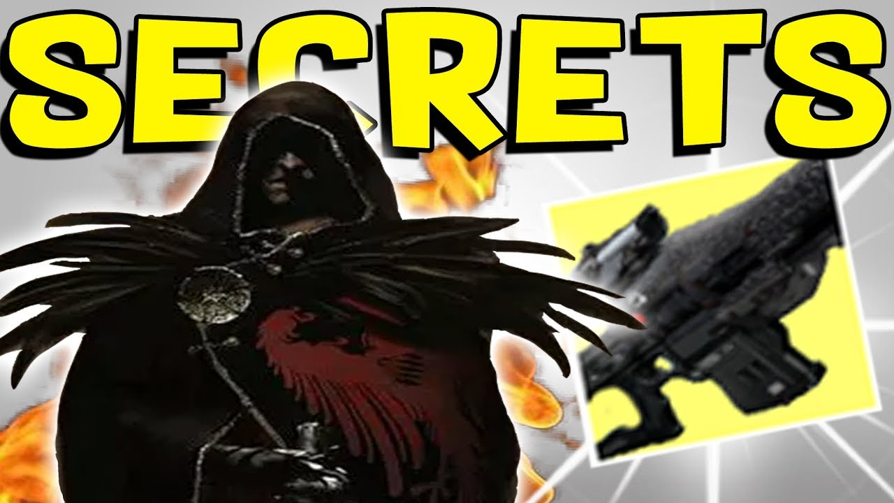 Destiny 2 - UNKNOWN EXOTICS IN DATABASE & NEW BOSS! Darkness