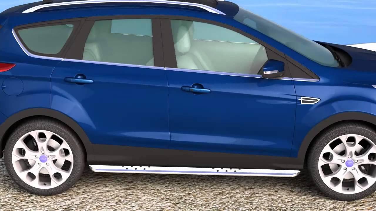 13l4351 Antec Online De Ford Kuga Oval Side Bar 90 X 45 Mm