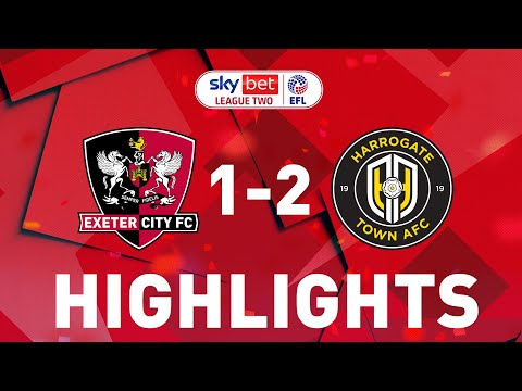 Exeter City Harrogate Goals And Highlights