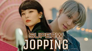 How would SUPERW sing JOPPING by SUPERM 슈버엠