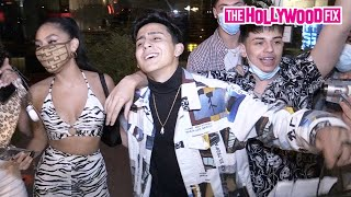 Alex Guzman Gets Serenaded 'Happy Birthday' By Devenity Perkins, Carlos Mena & The Squad At BOA